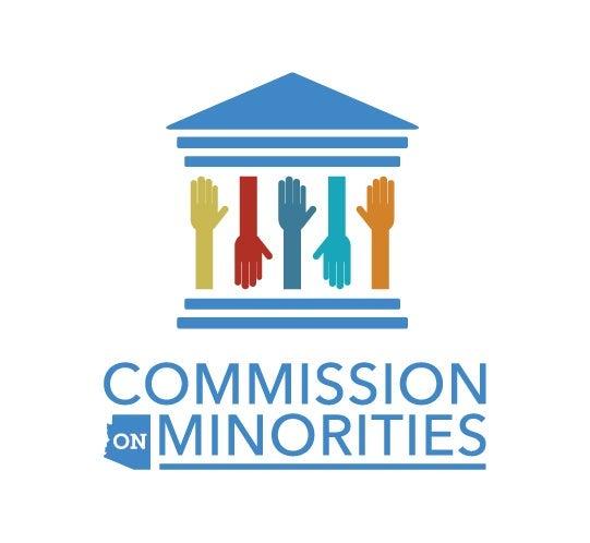 Commission on Minorities logo